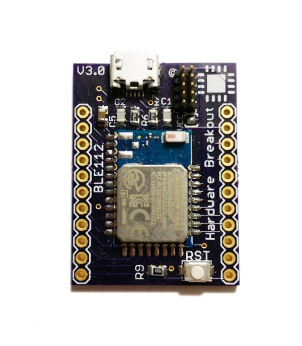 BLE112 Breakout Board (Bluetooth Low Energy)